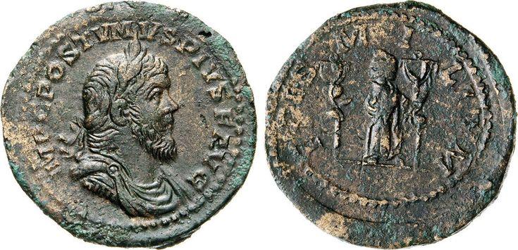 NumisBids: Numismatica Varesi s.a.s. Auction 65, Lot 259 : POSTUMO (259-268) Sesterzio, Augusta Treverorum o Colonia. D/...