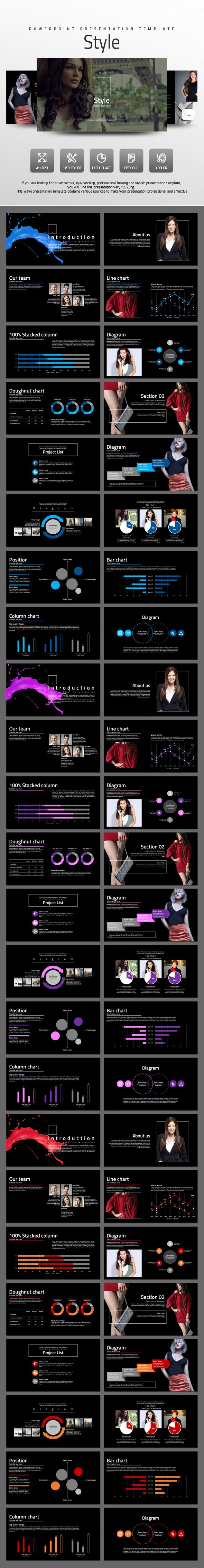 Style - PowerPoint Presentation Template #slides Download: http://graphicriver.net/item/style/14449901?ref=ksioks