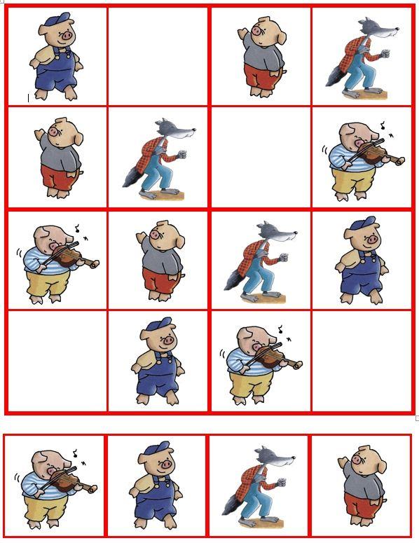 Sudoku De 3 biggetjes (02)