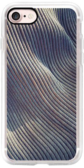 Casetify iPhone 7 Classic Grip Case - Fabric Distorsion by Daniac #Casetify