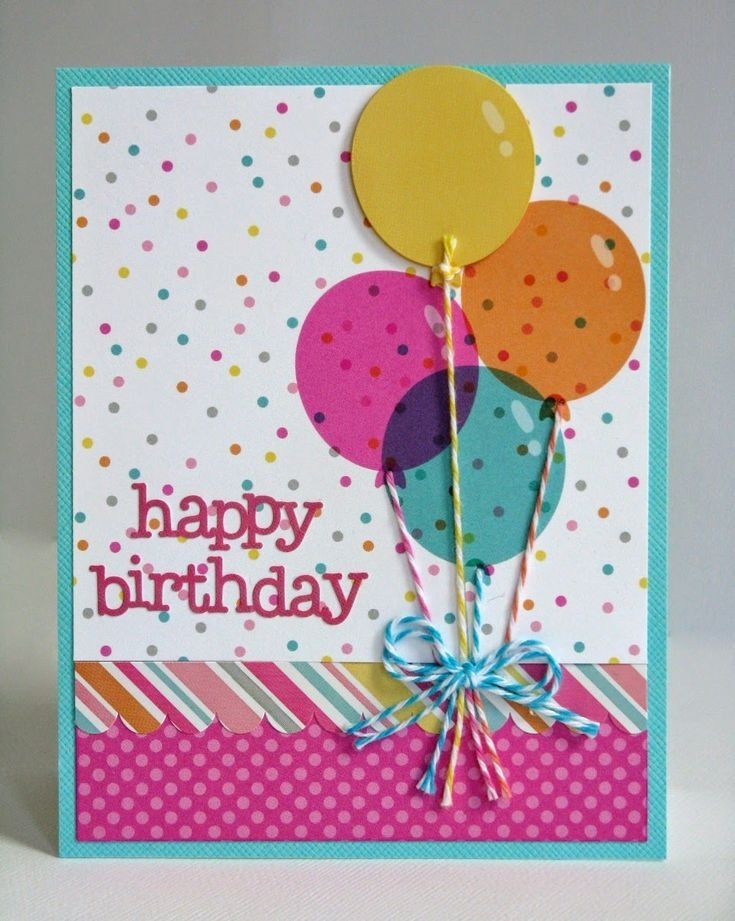 25 Best Ideas About Diy Birthday Cards On Pinterest
