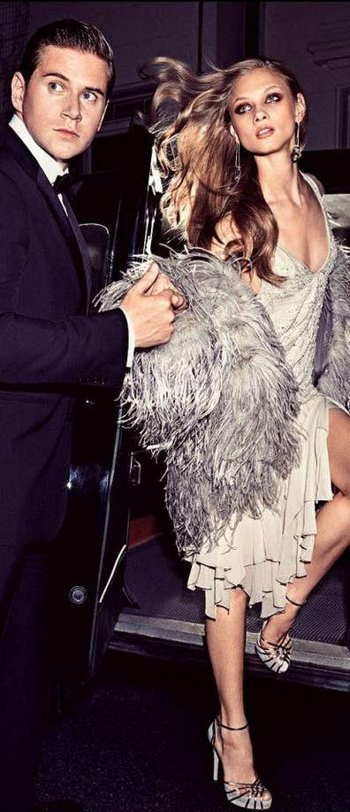 RALPH LAUREN: THE FASHION SHOOT Downton Abbey actor Allen Leech and Anna Selezneva | cynthia reccord