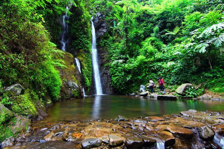 Cilember waterfall, Pucak, Bogor