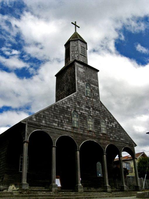 Saint Mary Church - Churches of Chiloe - Achao, Chile