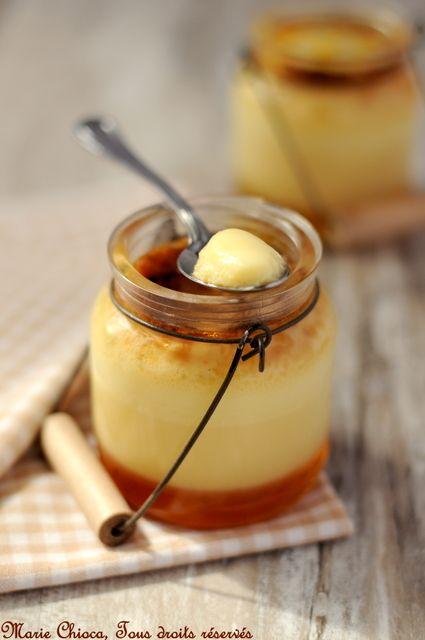 Ah, ces p'tites crèmes aux œufs, crèmes brûlées et petits « Flanbio » régressifs… - Saines Gourmandises... par Marie Chioca