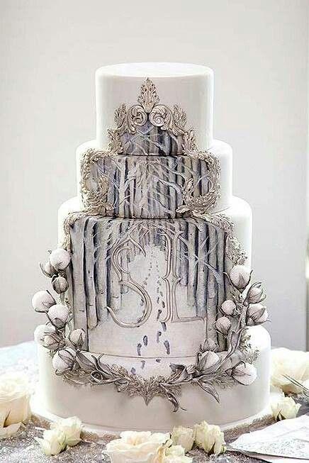Narnia wedding cake                                                                                                                                                     More