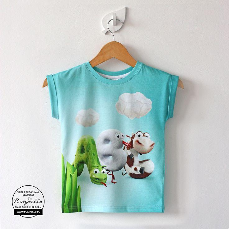 ABC koszulka dla dzieci