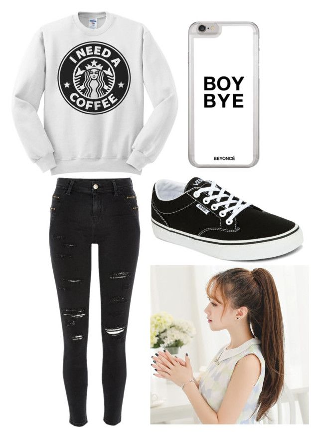 """Outfit #9 Casual"" by anaza1410 on Polyvore featuring moda, River Island y Vans"