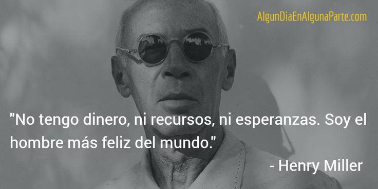 """El 7 de junio de 1980 #TalDíaComoHoy falleció el novelista estadounidense Henry Miller ~ """"Tropico de Cáncer""""."""