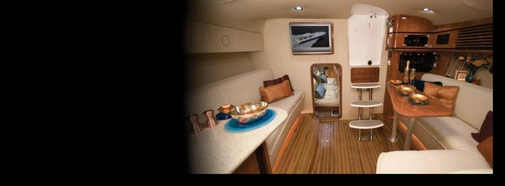 New 2012 Fountain Boats 48 Express Cruiser Express Fisherman Boat - Wonderful Interior!