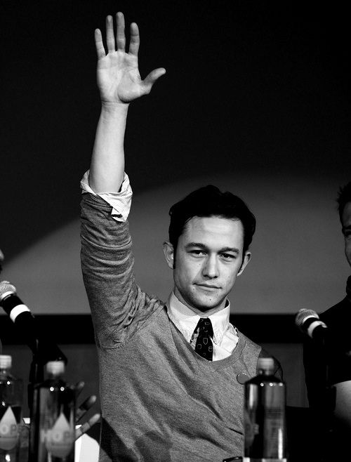 The answer is yes Joseph Gordon levitt, you can spend the rest of your life with me!
