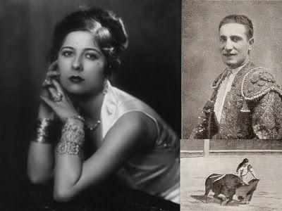 U GRAN AMOR   Conchita Piquer fue mujer de un solo hombre: el amor de su vida fue el torero Antonio Márquez llamado el Belmonte rubio. Se conocieron en Barcelona en 1928, pero cuando se enamoraron fue un año más tarde en Madrid al coincidir en un baile de máscaras que tuvo lugar en el Teatro de la zarzuela.