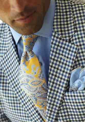 Robert Talbott. Genius outfit...