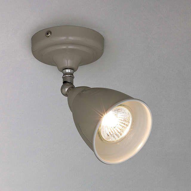 BuyJohn Lewis Plymouth Single LED Spotlight, Taupe Online at johnlewis.com