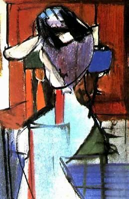 Seated Figure - Franz Kline                        History of Art: Franz Kline