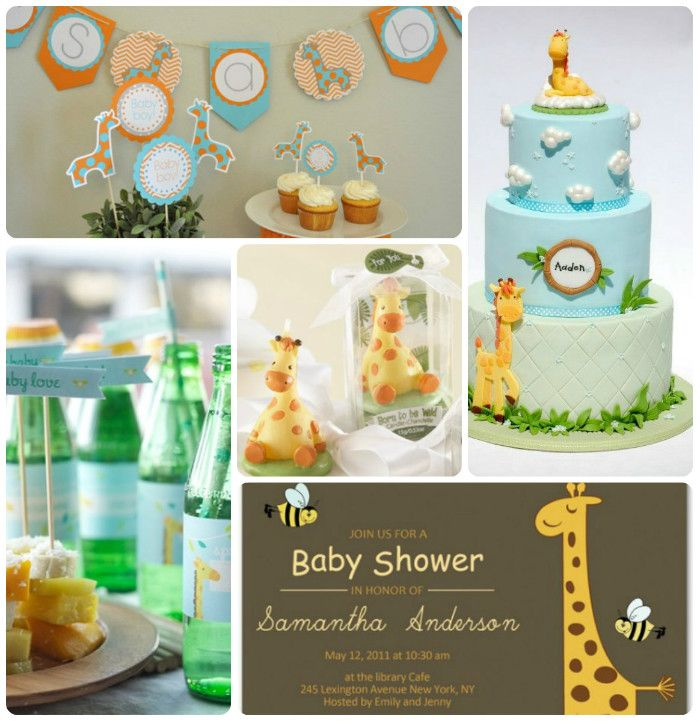 So Cute For A Baby Shower Giraffes!