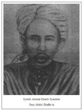 Syeikh Ahmad Khatib Syambas ra. Pendiri TQN di Mekkah
