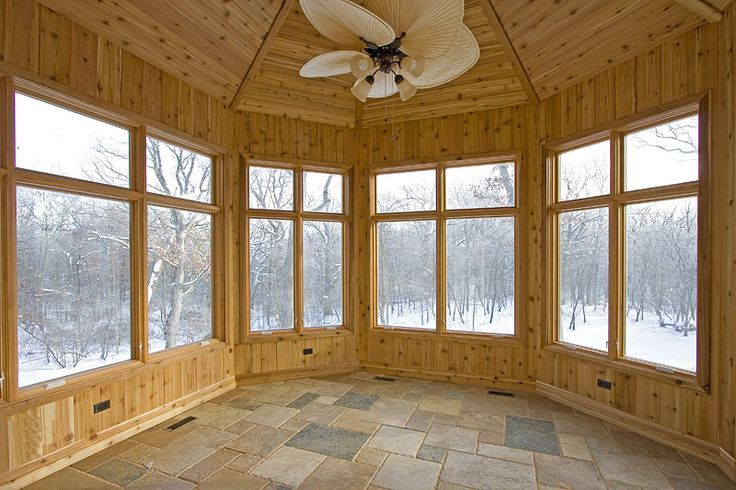 Someday ... I will have my four season room.
