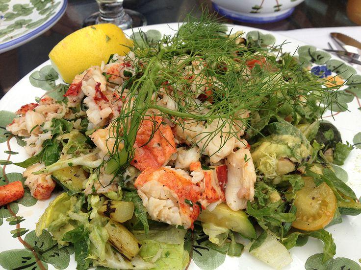Lobster Sallad @ The Ivy, Beverly Hills http://www.senses.se/at-som-en-hollywood-starna-26-the-ivy-beverly-hills/
