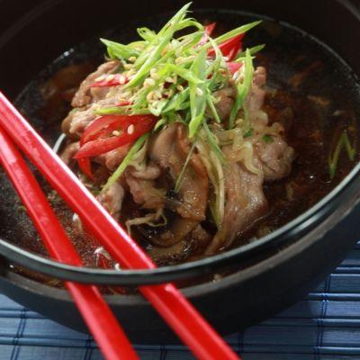 Κινέζικη καυτερή σούπα / Λουκάκος Γιάννης