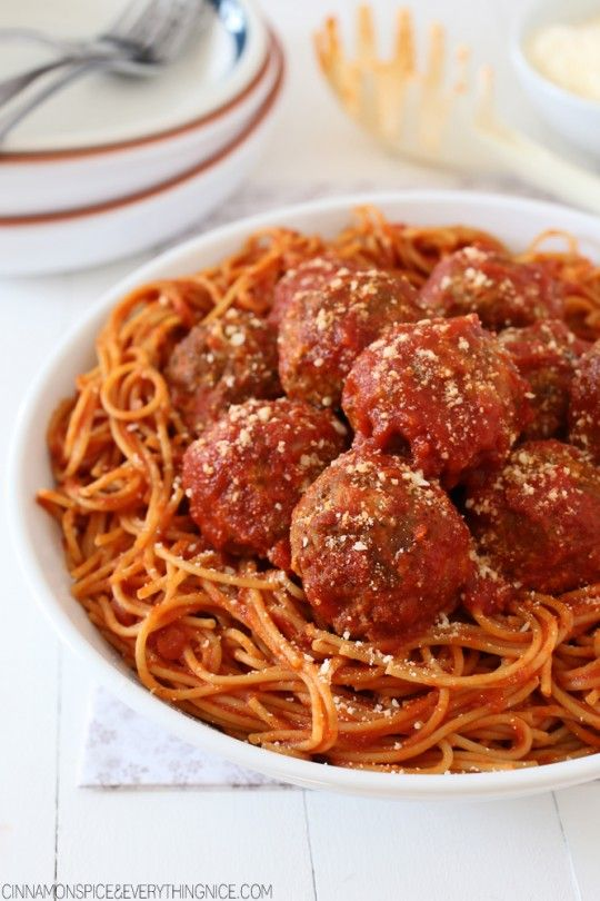 Mama's Best Ever Spaghetti and Meatballs....recipe just for the meatballs...uses Ragu for sauce.