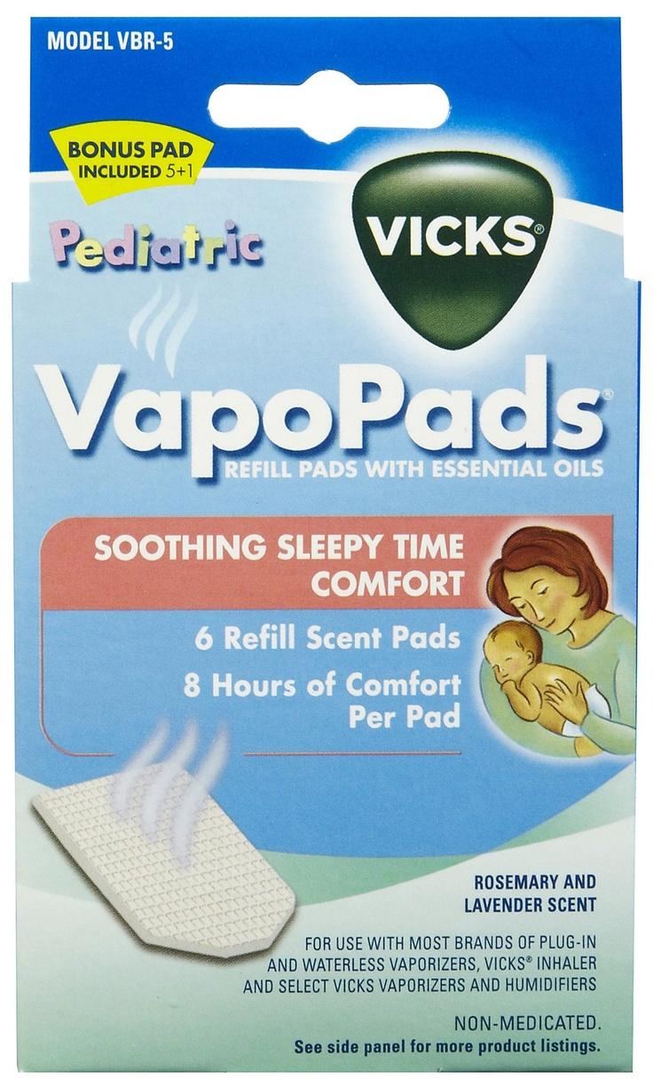 Vicks Baby Rub Waterless Vaporizer Scent Pads Blayne