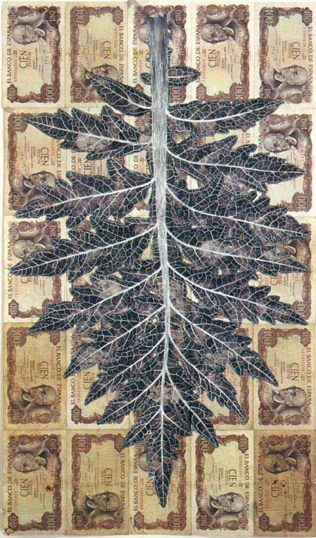 Leaf Litter. Fiona Hall