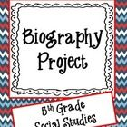 Use this file for students to create a biography project. It is ready to give to your students today.
