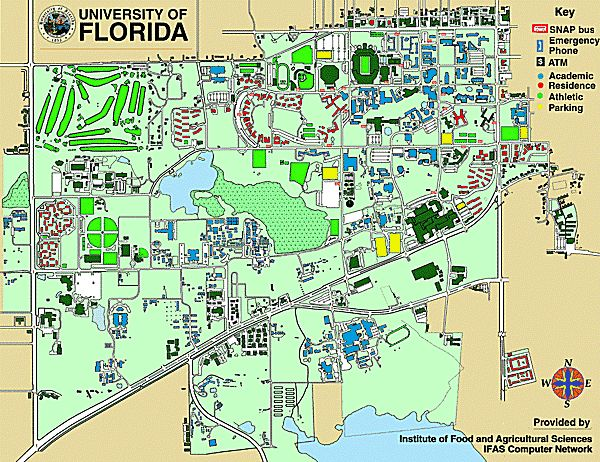 Uf Campus Map Building