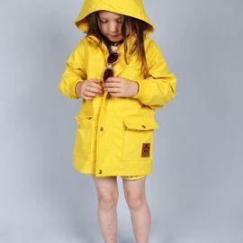 Mini Rodini - Pico takki (keltainen): Yellow Raincoat, Minis Dog Qu, Kids Fashion, Spring Summer, Jackets, Minirodini, Baby Girls, Trench Coats, Minis Rodini