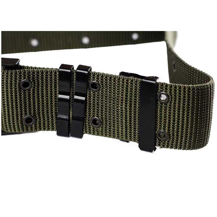 Outdoor S Tactical Nylon Fiber Belt w/ Buckle - Army Green