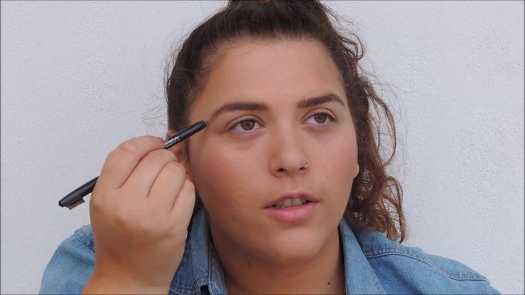 No Mirror Make-Up Challenge   MyLifeAsDebby