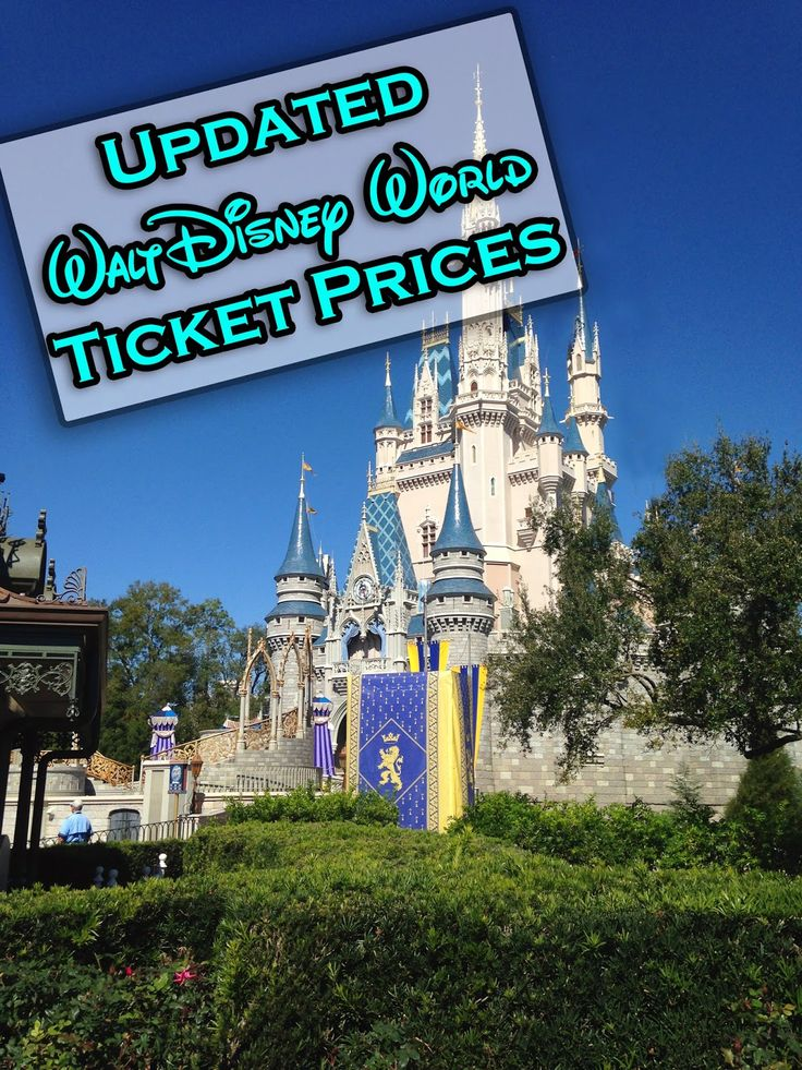 It's A Disney World After All: Walt Disney World Ticket Prices Increase