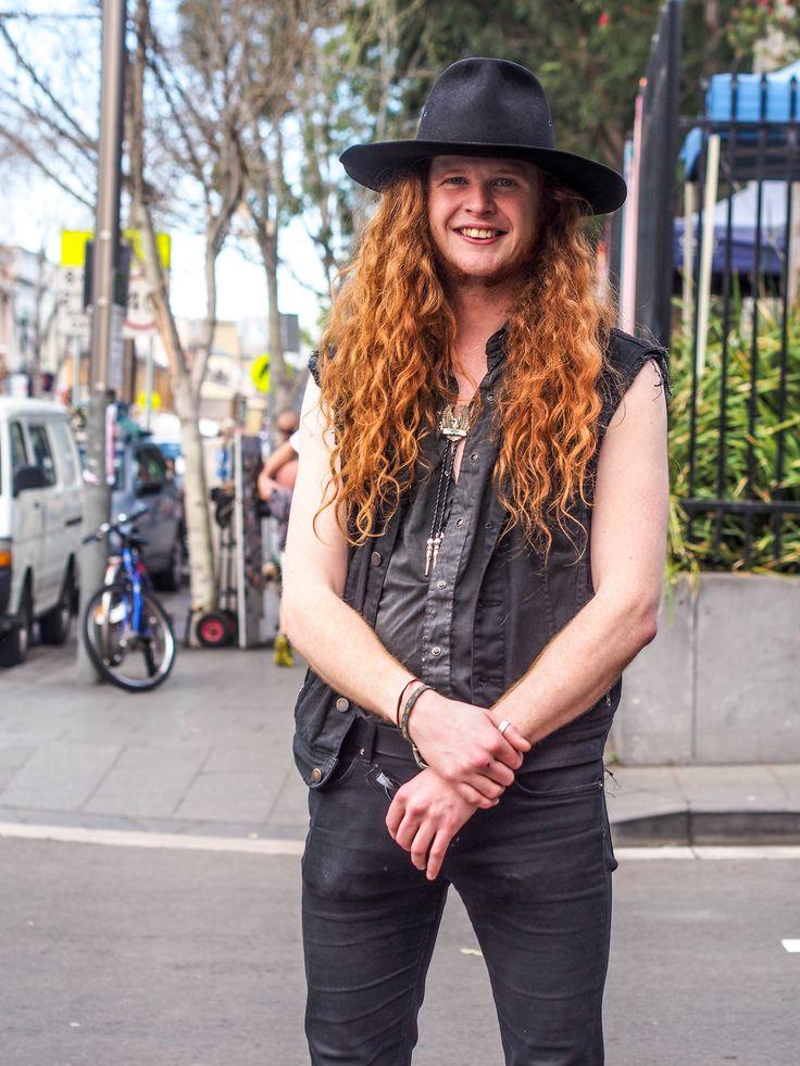 Country Music musician. Glebe, Sydney.