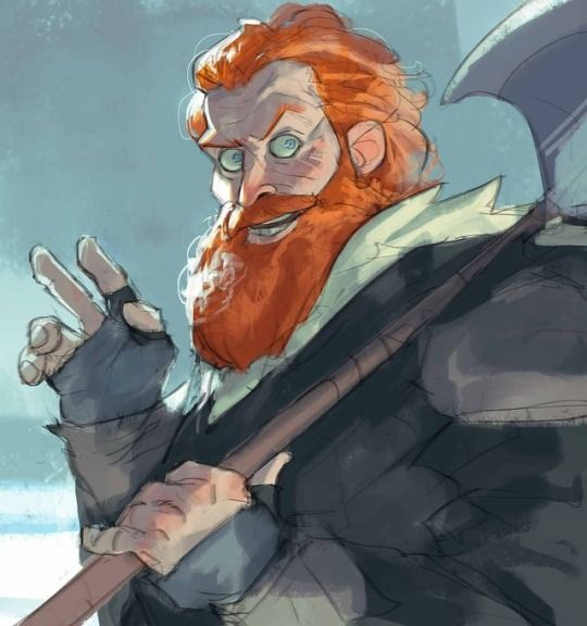 Game of Thrones (GOT) example #362: Tormund Giantsbane, Ramón Nuñez