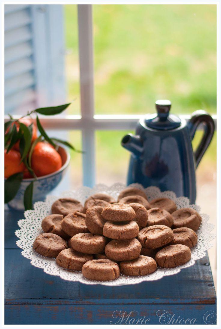 Mantecaos (farine de grand épeautre, sucre de coco, huile de tournesol, cannelle, huiile essentielle de clémentine ou d'orange, ou zestes)