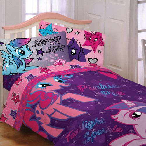 My Little Pony Reversible Bedding Comforter Kids Amp Teen
