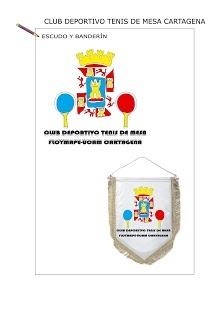 #Escudo y banderín de Club Tenis de Mesa CT