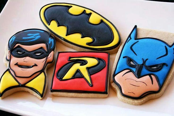 Batman and Robin Cookies
