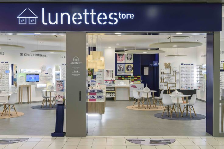 Devanture du magasin à #Thionville - Lunettestore vous simplifie la vue ! #design #conceptstore #opticien #vitrine #lunettes #lunetier #visagisme