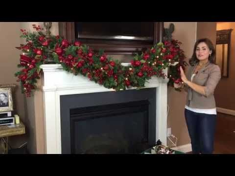 How to Add the Special Touches to Really Make a Christmas Garland (Part 8 of 9)