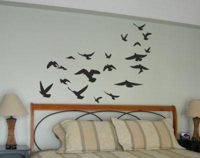 Detalles de pegatina vinilo decorativo pared original for Habitaciones pintadas