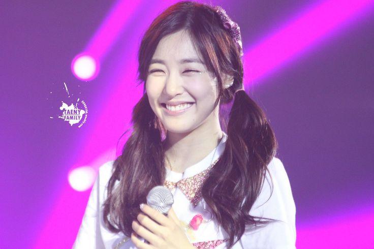 SNSD Tiffany eye smile Macau 140215