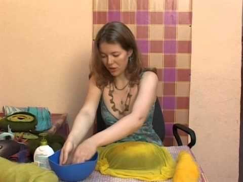 Видео-мастер класс по валянию войлочной сумки-клатча от Анны Ковылиной. - YouTube