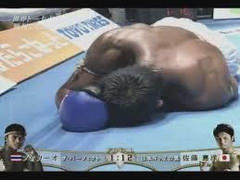 日本人ファイター大快挙! ブアカーオの生涯唯一のKO負け キックボクシング