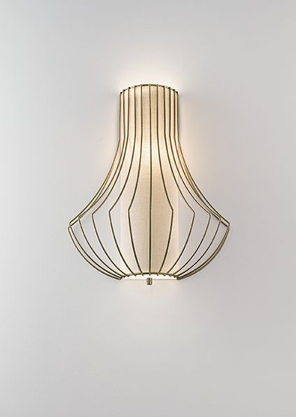Empire wall light. Also available as a ceiling pendant