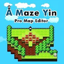 A Maze Yin  - Play A Maze Yin Pro Map Editor game online. ( Pro Map Editor, Puzzle, boxe, sokoban game, pathway, exit, Forest, move boxes, top puzzle game ).