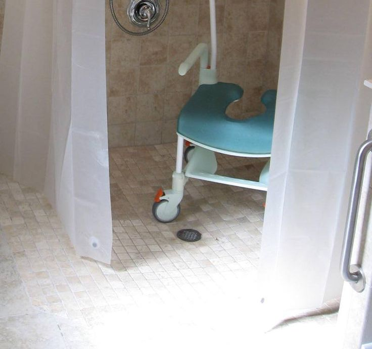 Easy Access Shower Thresholds  Handicap Shower Stalls Design For You Check more at http://www.showerremodels.org/110/handicap-shower-stalls-design-for-you.html