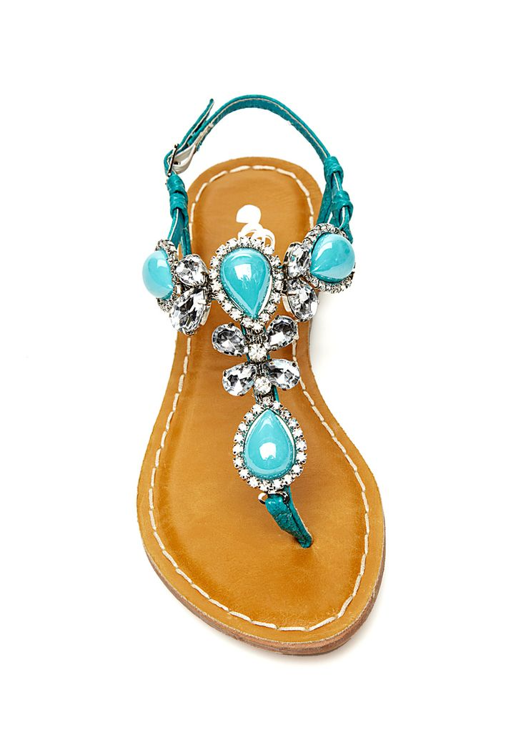 Turquoise sandal! So cute for dancing! Would love it if the base was white. It would look more wedding.