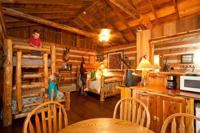 8 best unique places to visit stay in missouri images for Cabins near silver dollar city